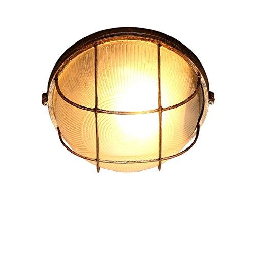 lur Gang Balkon Beleuchtung Retro Industrie Einfach Kreative Eisen Glas Klein Deckenleuchte (Was Man Eisen Auf)