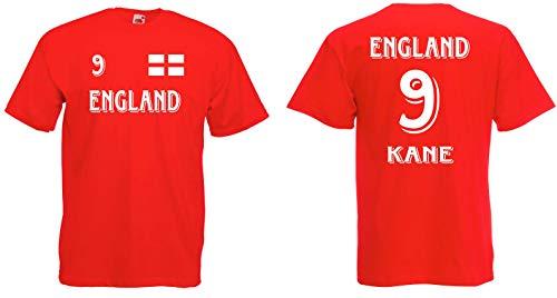 England Kane T-Shirt Trikot WM-2018 Look