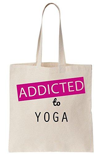 Namaste Yoga-tote (Addicted To Yoga Canvas Tote Bag)