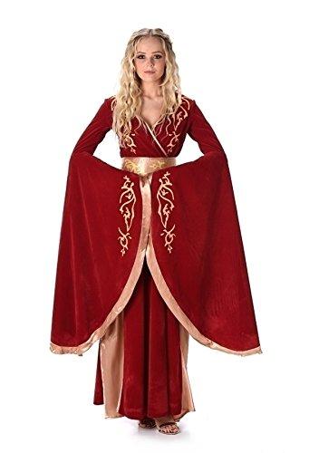 ntasy Königin Lady Cersei Kostüm für Damen Größe S (Cersei Lannister Kostüm)