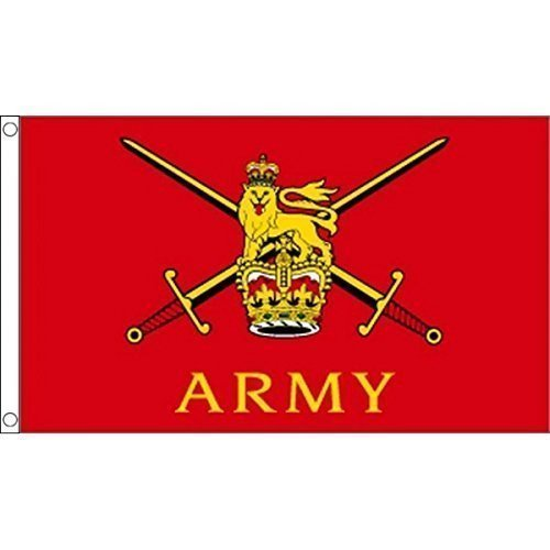 (1.52 x meters 0.91 meters (150 cm x 90 cm), Design British Army Militär Truppen 100% Polyester, Material Fahne Flagge Banner, Ideal für Pub, Club, Schulfest Business Party-Dekoration)