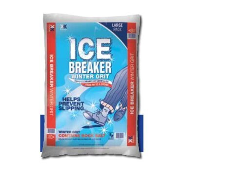 Ice Breaker Winter Körnung Rock Salz Große Tasche ca. 22kg (Icebreaker Große)