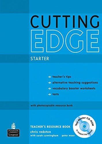 Cutting Edge Starter Teacher's Book/test Master CD-ROM Pack by Sarah Cunningham (2010-08-19)
