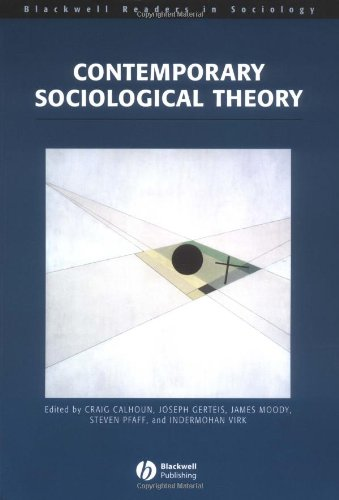 PDF] Contemporary Sociological Theory (Wiley Blackwell