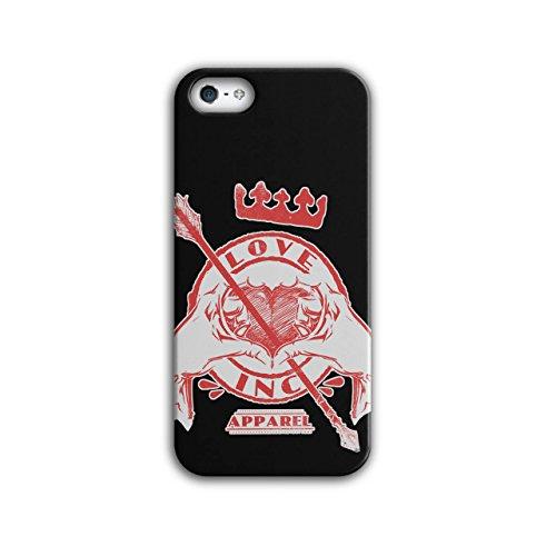 Liebe Inc König Valentine Herz Lust iPhone 5 / 5S Hülle | (Kostüm Kürbis König)