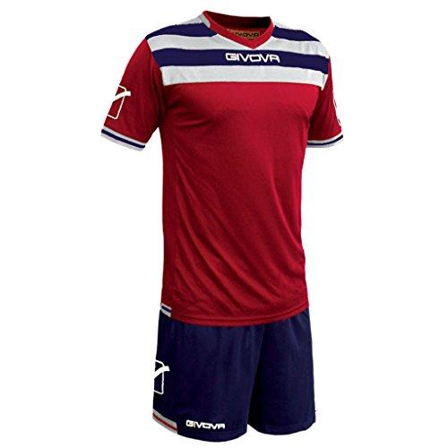Givova Abbigliamento Sportivo Calcio Kit Curva Rosso-blu M