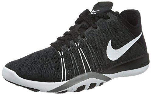 Nike Free Trainer 6, Chaussures de Fitness Femme, Noir (Black/White/Cool Grey), 36 EU