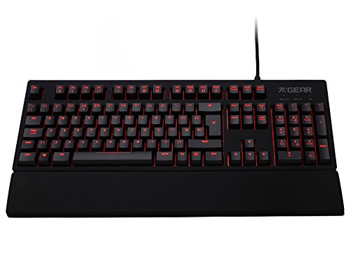 Fnatic Gear Rush LED Backlit Mechanical Pro Gaming Keyboard with MX Cherry Switches, UK Layout