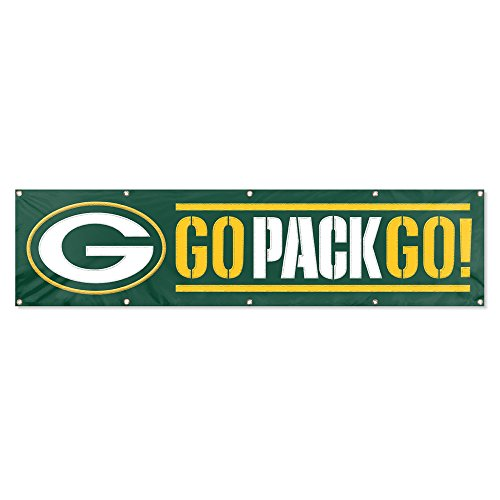 party-animal-offizielles-lizenzprodukt-8-x2-nfl-banner-packers-giant-8-x-2-banner-green-white-yellow
