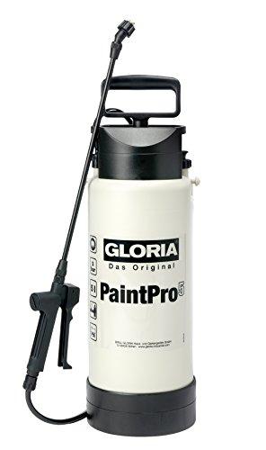 GLORIA Paint Pro 5 Speziealsprühgerät Ölfest für Grundierungen, Farben, Lacke auf Wasserbasis