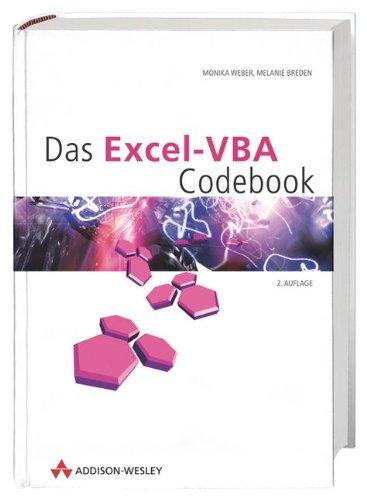 Das Excel-VBA Codebook. par Monika Weber
