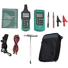 Akozon MS6816 Comprobador de Cables, Detector de posicionamiento de tubos metálicos, para medición de
