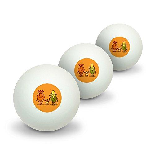 alloween Neuheit Tisch Tennis Ping Pong Ball 3Pack (Halloween Candy Store)