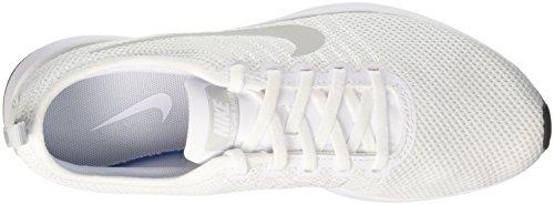 Nike Dualtone Racer, Baskets Athlétiques Homme Blanc (blanc / Blanc / Noir / Pure Platinum 102)