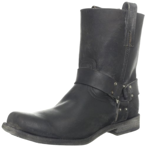 frye-smith-harness-botas-de-canvas-para-hombre-negro-noir-blk-415