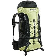 AspenSport Herren Rucksack Trail, green/black, 66 x 40 x 21 cm, 65 liters, AB08L03
