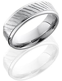 Titanium, Textured Edged Wedding Band (sz H to Z1)