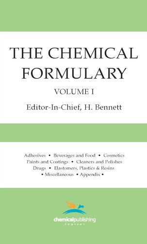 001: The Chemical Formulary, Volume 1