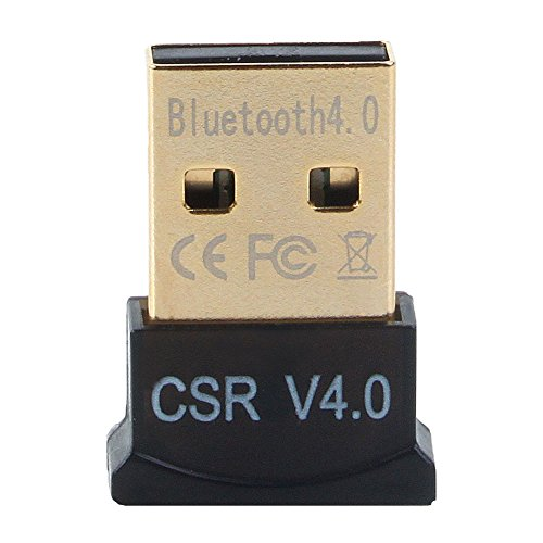 GENERIC Ultra-Mini Bluetooth CSR 4.0 USB Dongle Adapter( Black:Golden)