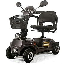 ACEDA Moto Eléctrica para Personas Mayores con 4 Ruedas, Plegable E-Scooter,Scooter