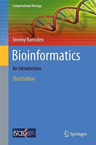 Bioinformatics: An Introduction (Computational Biology) by Jeremy Ramsden (2015-05-20)
