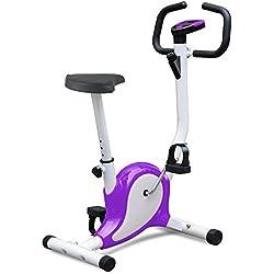 Popamazing Vélo d'appartement professionnel pour toutes les saisons Sport chez soi Fitness Cardio Couleurs multiples, PP-Fitness-OP1151, Red, Style A