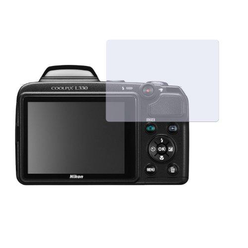 0 ENTSPIEGELNDE PREMIUM Displayschutzfolie Bildschirmschutzfolie Schutzhülle Displayschutz Displayfolie Folie (Nikon Coolpix L330-kamera)