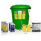 Biocare India Biozap Plastic 35 L Home Composter-Set of 2 Bins