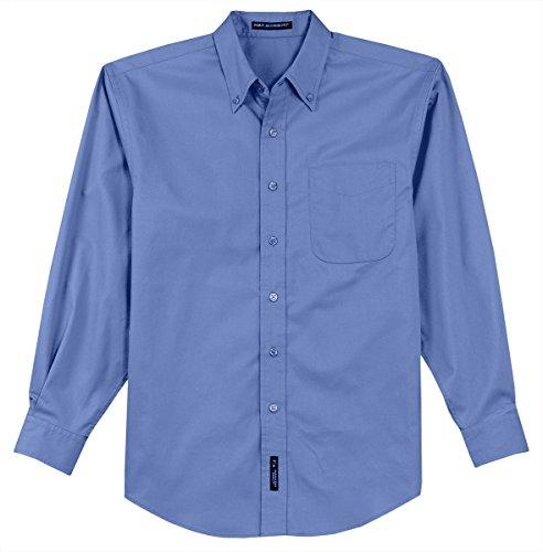 Port Authority Herren Long Sleeve Easy Care Shirt Ultramarine Blue