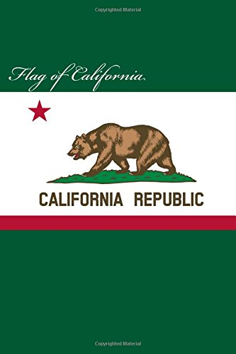flag-of-california-journal-160-lined-ruled-pages-6x9-inch-1524-x-2286-cm-laminated