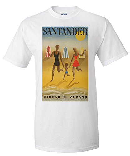 santander-vintage-poster-artist-geruy-spain-c-1942-premium-t-shirt