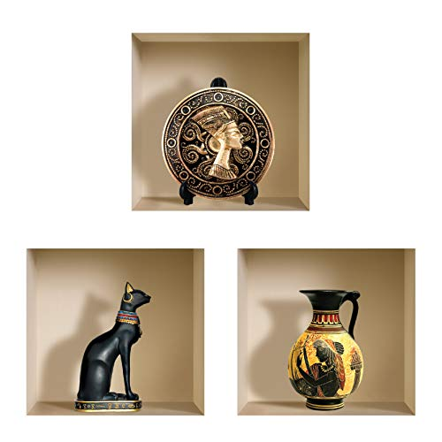 Información del producto:  Las pegatinas Nisha son un concepto decorativo revolucionario. Nisha es la única empresa en el mundo que lo ha lanzado. La pegatina para pared viene con cientos de imágenes y tamaños variados, y puede ofrecer a una habitaci...