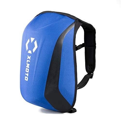 XLmoto Zaino Moto Slipstream Resistente all\'Acqua Blu 24L