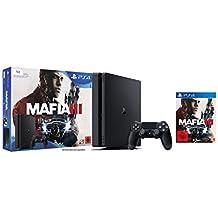 PlayStation 4 - Konsole (1TB, schwarz,slim) inkl. Mafia 3