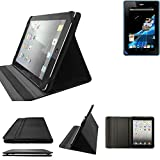 K-S-Trade ACER Iconia Tab B1-711 Schutz Hülle Business Case Tablet Schutzhülle Flip Cover Ultra Slim Bookstyle Tasche für ACER Iconia Tab B1-711, schwarz. Kunstleder Qualitätsware - K