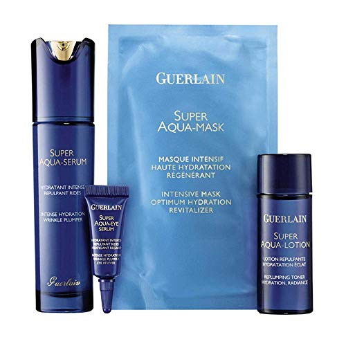 GUERLAIN SUPER AQUA SERUM 50ML SET REGALO (Crema Para Contorno De Ojos)
