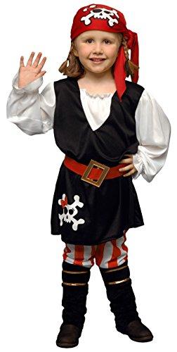 Disfraz de Pirata Niña 1-2 años