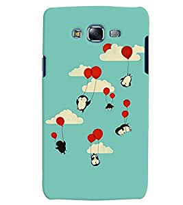 Citydreamz Red Balloons/Flying Birds Hard Polycarbonate Designer Back Case Cover For Samsung Galaxy A7