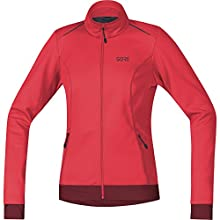 GORE WEAR 100328 Veste Femme Hibiscus Pink/Chestnut Red FR : M (Taille Fabricant : 38)