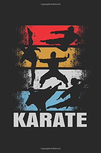 Karate: Notebook / Diary / Organizer / 120 lined pages / 6x9 inch