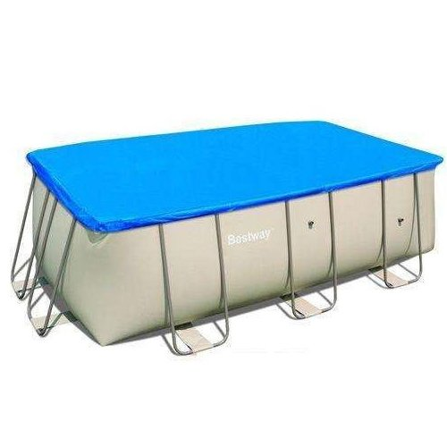 Telo di copertura per piscine con telaio dimenioni 549X274 56131