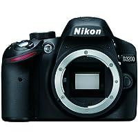 Nikon D3200 Body - Cámara digital (24.2 MP, SLR Body, CMOS, TTL, Autoenfoque continuo, Face tracking, Multi Point Auto Focus, Servo Auto Focus, Autoenfoque único, Manual) Negro