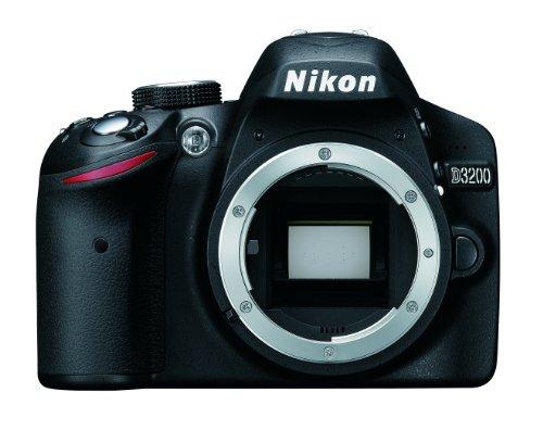 Nikon D3200 Body Fotocamera Digitale 24.7 Megapixel [Versione EU]