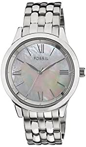 Fossil Ainsley Ro Analog Silver Dial Women's Watch -BQ1755