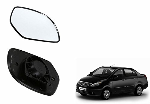 speedwav car rear view side mirror glass left-tata indigo manza Speedwav Car Rear View Side Mirror Glass LEFT-Tata Indigo Manza 41uOziWTM L