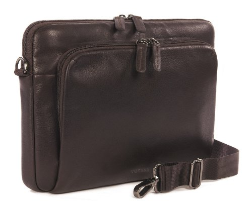 Tucano One Premium Sleeve borsa in vera pelle per MacBook Air 11 Marrone