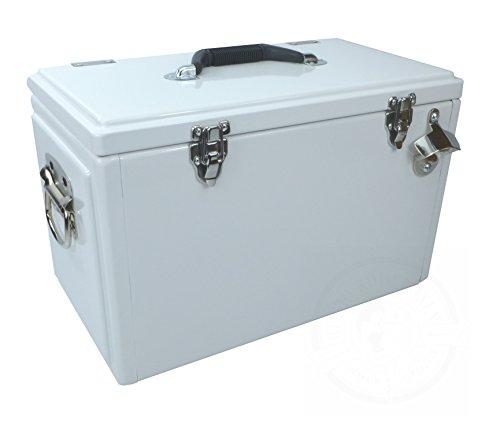 1021507 - Retro-Kühlbox TOOLBOX Weiß