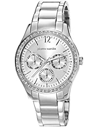 Pierre Cardin La Lisiere Women s Quartz Watch with Silver Dial Analogue  Display and Silver Stainless Steel b6c733cba1