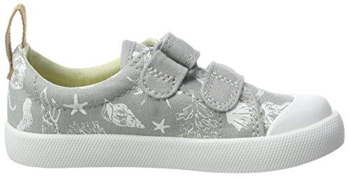 Clarks Halcy High Fst, Chaussures Marche Bébé Garçon Gris (Grey)