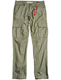 Alpha Industries Hose Agent light oliv